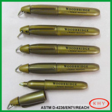 Mini permanent ink metallic marker for promotion