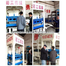 TOP HOLLOW BLOCK MAKING MACHINE!YUGONG QT10-15 production line can give you a more clear brand image.