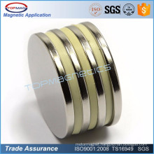 High grade n52 magnet single pole magnet