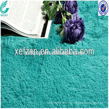 Long pile washable shaggy artificial faux fur carpet