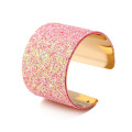 Womens Alloy Unique Sparkly Large Manschett Armband