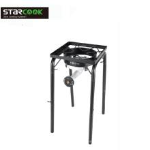 Detachable Leg Stove Heavy Duty Cast Iron Burner Gas Cooktop