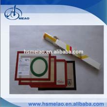 Tapete de cozimento reutilizável do silicone da certificação FDA