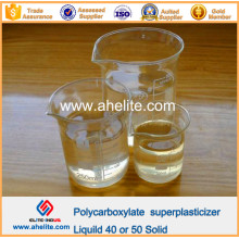 Aditivos Concreto Policarboxilato Superplastificante Líquido 40% 50% Sólido