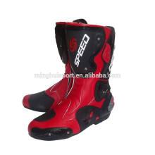 Супер тяжелый Качество Мотокросс ботинки кожаный мотоцикла сапоги