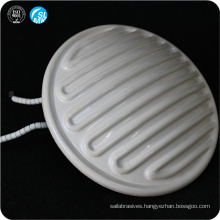 wholesale round infrared ceramic wall heater white