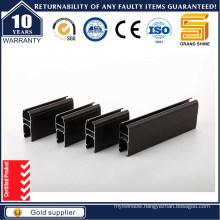 Power Coating Grey Aluminum Profile for Doors (6063)
