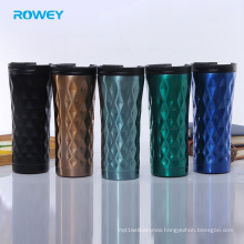 double wall metal vacuum insulated travel tumbler cup