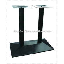 Mesa de hierro forjado barra doble XT6977