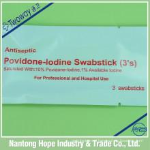 disposable sterile povidone iodine swabstick