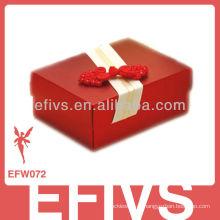 Caixa vermelha do favor do casamento do estilo chinês 2013 feita em China