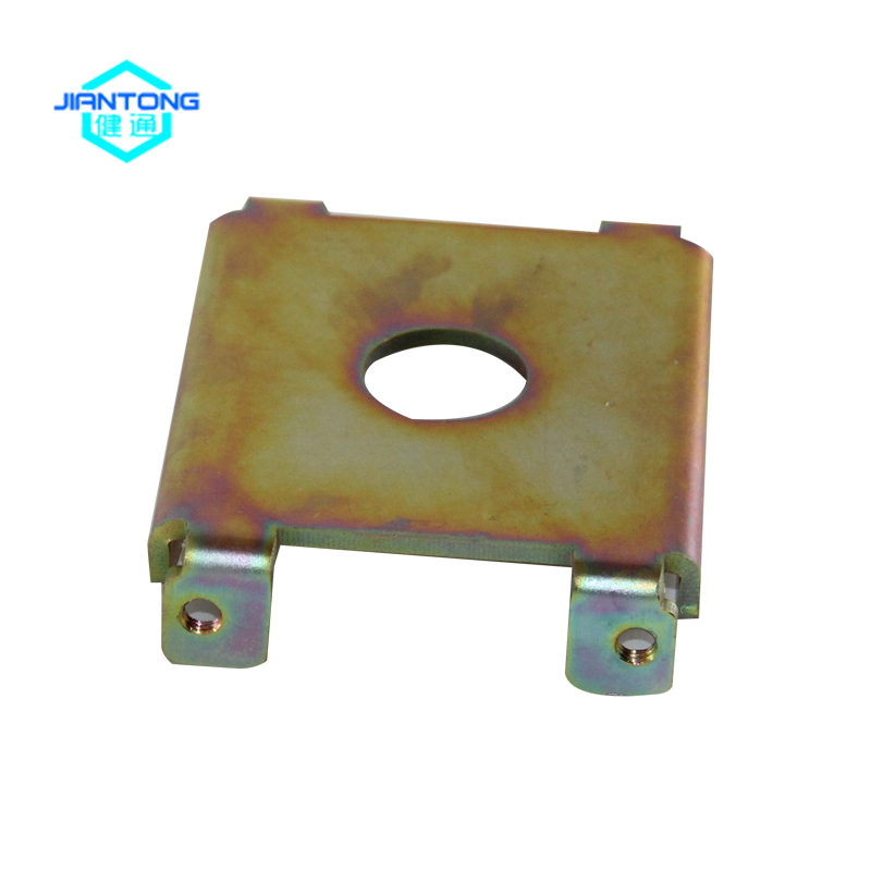 Zinc plated sheet metal stamping parts (3)