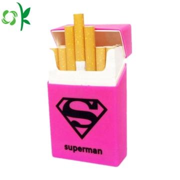 Hot Selling Cigarette Silicone Cool Case för Unisex