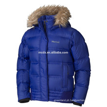 Hot Sale winter Girls down jacket em azul