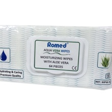 Personal Cleansing Wipes With Aloe Vera