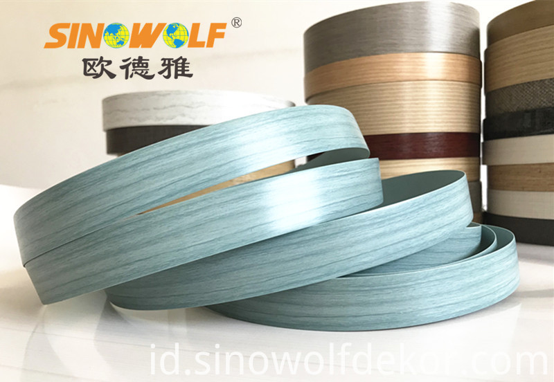 Blue Wood Grain Edge Banding 1