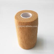 Medical tipos diferentes cor da pele descartáveis não tecido cuidado curativo crepe bandagem elástica