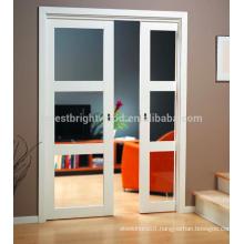 White paintedr Sliding French Doors,Cavity doors