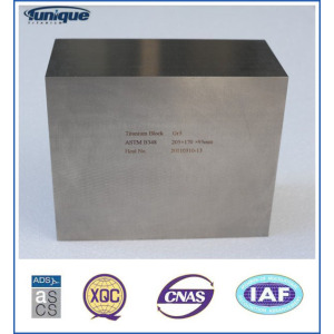 High Density Titanium Block till salu