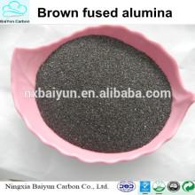 Reliable supplier brown fused alumina al2o3 corundum for sandblasting