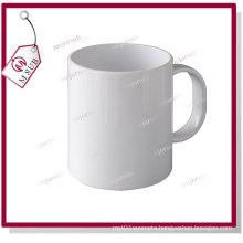 11oz Sublimation Plain Circle Polymer Plastic Mug