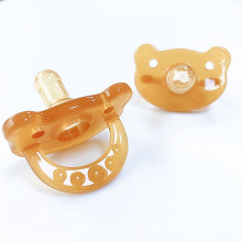 Baby products BPA free baby teether toys Pure Natural Rubber Pacifier