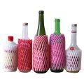 Лучшее Качество Стеклянная Бутылка Вина Упаковывая Использовать Защитное Рукав Сетка