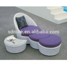 2014 latest design +outdoor/living room sofa furniture+poly rattan furniture
