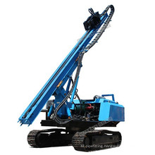 Track mounted hydraulic pile driver for solar power plant walking solar pile driver equipment