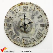 Quality Chic Retro Decoration Promotional Clock Metal