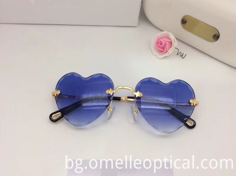 Heart Shaped Colorful Sunglasses