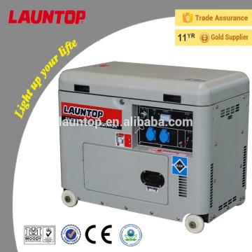 5.5kw venda quente pequeno gerador de diesel silencioso LDG6500SA