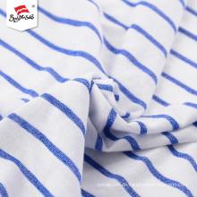 Kundenspezifisches weiches Handgefühl Polyester-Streifengewebe