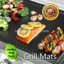 Barbeque Churrasqueira Non-Stick Hotplate Liners X 2 Mat Proteção, Easy Cean Folha .Cook on Webe