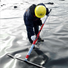 Geomembrana HDPE de 1mm 2mm para forro de lago