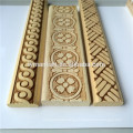 Wood Decorative Embossed Wood Moulding Trim White Wood Moulding
