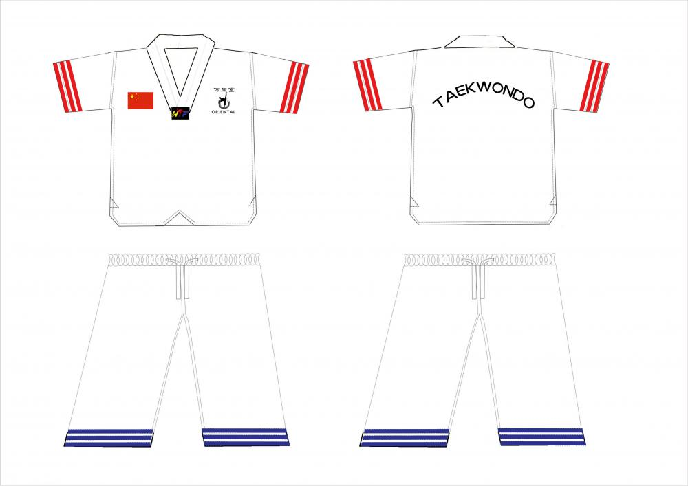 taekwon uniform summer style