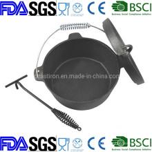 8qt 9qt 12qt 14qt Seasoning Cast Iron Dutch Oven Manufacturer in China