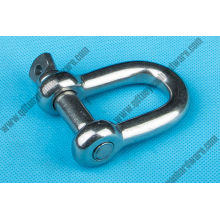 Stainless Steel European Large D Shackle
