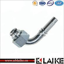 Métrique Femelle 90 Coude Hydraulique Nipple (20592)