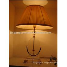 Lampes de table en cristal pour décoration de maison