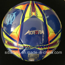 Nuevo diseño PVC Laether máquina puntada fútbol / fútbol