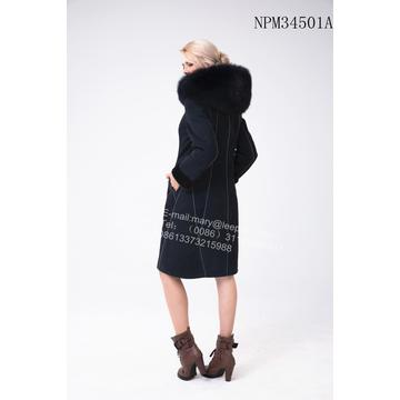 Bright Thread Dekoration Australien Merino Shearling Coat