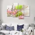 Moderne Segeltuch-Kunst-Wand-Dekor / Farben-Ei-Fotografie-Druck auf Segeltuch / frohe Ostern Gerahmte Segeltuch-Grafik