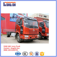 FAW LNG Cargo Truck 6X4 LNG Lorry for Vietnam Market