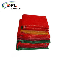 PP Leno onions patatoes mesh bags with label vegetable mesh bags
