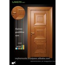 2017 Design ConcaveShaped Molded Teak Veneer Interior Door