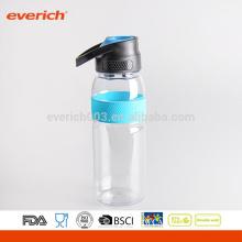 2016 Single Wall Plastic Sports Water Bottle BPA Free