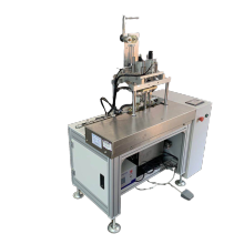 High speed full fully automatic four points 3ply face mask inner ear loop welding machine ear loop machines