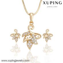 63916 Xuping nouveau design charme plaqué or ensembles de bijoux